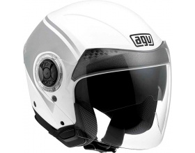 AGV NEW CITYLIGHT World  white/gunmetal