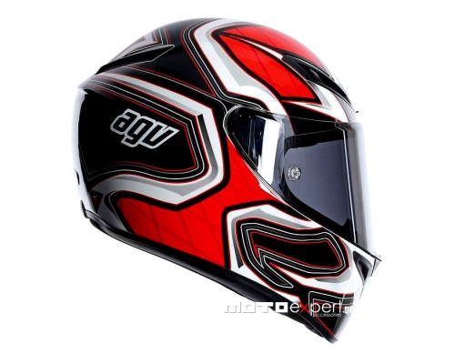 AGV GT-Veloce Gravity black/red