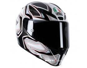AGV GT-Veloce Gravity white/red
