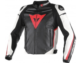 DAINESE Super Fast Pelle Estivo black/red