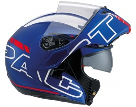 AGV Compact Seattle mat blue/red