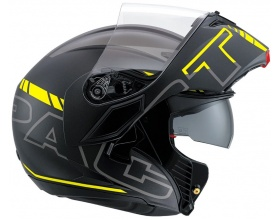 AGV Compact Seattle mat black/yellow