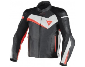 DAINESE Veloster Pelle black/white/red