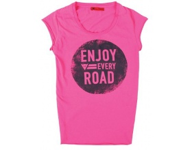 Dainese T-Shirt N'Joy Lady fuchsia