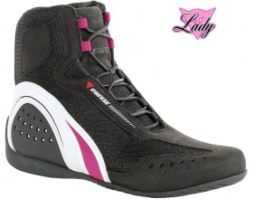 DAINESE Motorshoe Lady Air black/fuchsia