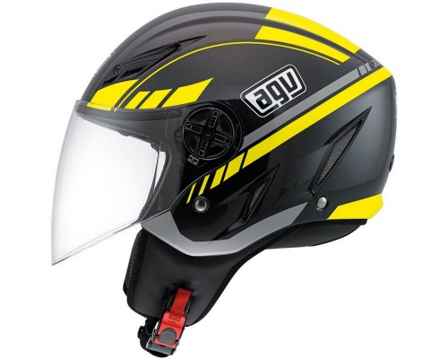 AGV Blade Human black/silver/yellow