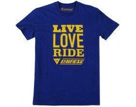 Dainese T-Shirt Riders Mantra navy