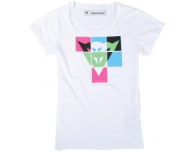 Dainese T-Shirt Andy Lady white