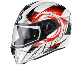 AIROH Storm Anger white/red