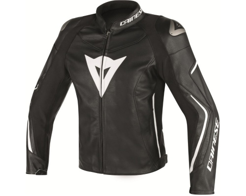 DAINESE Assen Leather black/white