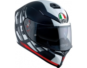 AGV K-5 S Pinlock Darkstorm mat black/red