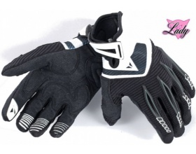 DAINESE Lady Paddock gloves black/white