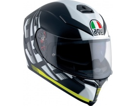 AGV K-5 S Pinlock Darkstorm mat black/yellow
