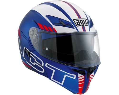 AGV Compact ST Pinlock® Seattle mat blue/white/red