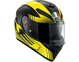 AGV K-3 SV Pinlock® Glimpse black/yellow
