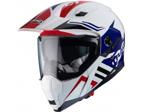 CABERG Xtrace Lux white/blue/red