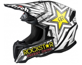 AIROH Twist Rockstar black/white mat