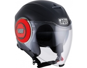 AGV Fluid mat black/red
