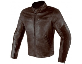 DAINESE Stripes D1 Leather dark brown