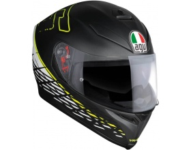 AGV K-5 S Pinlock Thorn 46 mat black/yellow