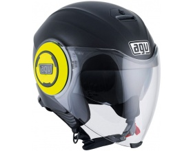 AGV Fluid mat black/yellow