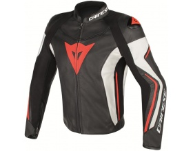 DAINESE Assen Leather black/white/fluo red