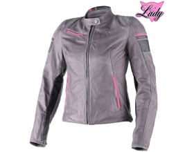 DAINESE Lady Michelle Leather smoke/black/fuchsia