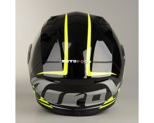 AIROH Valor Eclipse black/fluo yellow