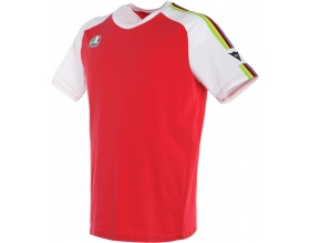 Dainese T-Shirt Ago-1 white/red
