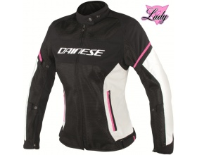 DAINESE Lady Air Frame D1 black/grey/fuxia