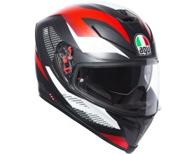 AGV K-5 S Pinlock® Marble mat black/white/red
