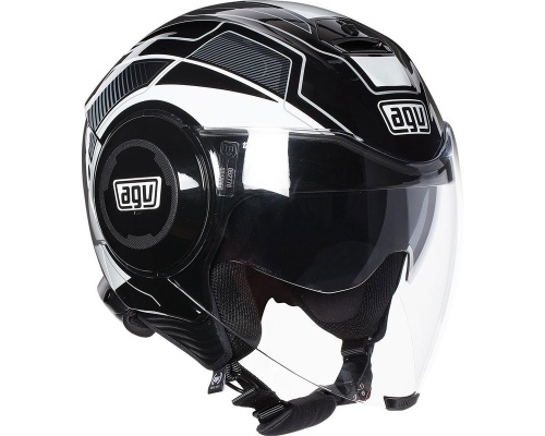 AGV Fluid Soho black/white