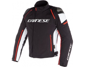 DAINESE Racing 3 D-Dry® black/white/fluo red