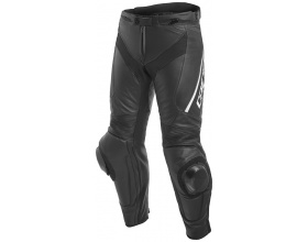 DAINESE Delta 3 Leather pants black/white
