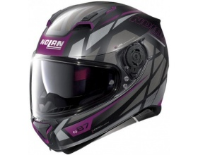 NOLAN N87 N-Com® Originality 71 flat black/purple