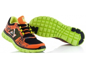 ACERBIS Corporate running shoes black/orange