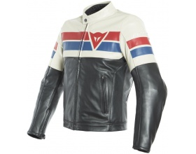 DAINESE 8-Track Leather black/ice/red