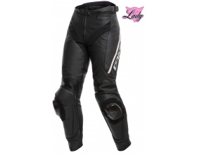 DAINESE Lady Delta 3 Leather pants black/white