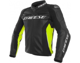 DAINESE Racing 3 Leather black/fluo yellow