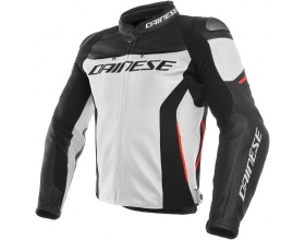 DAINESE Racing 3 Leather white/black/red
