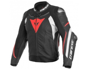 DAINESE Super Speed 3 Leather black/white/fluo red