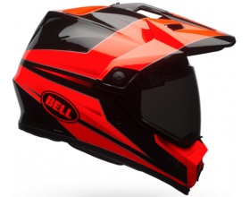 BELL MX-9 Adventure Mips Stryker black/fluo orange