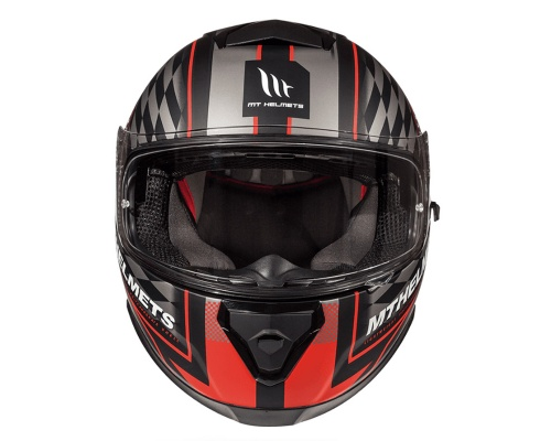 MT Thunder 3 SV Isle of Man black/red mat