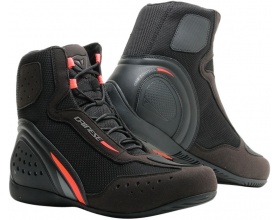 DAINESE Motorshoe D1 Air black/fluo red/anthracite