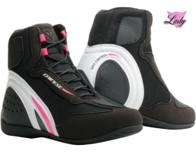 DAINESE Motorshoe D1 Air Lady black/fuchsia