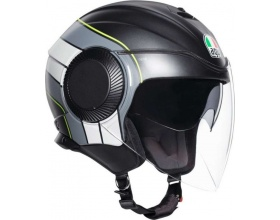 AGV Orbyt Brera black/grey/yellow mat