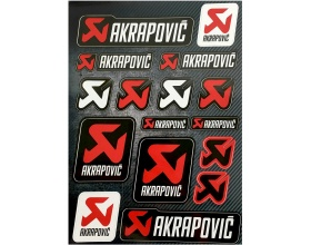 Αυτοκόλλητα Akrapovic Moto stickers