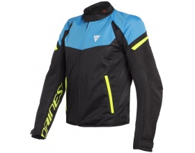 DAINESE Bora Air Tex black/fire blue/fluo yellow