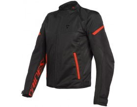 DAINESE Bora Air Tex black/fluo red