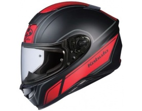 Kabuto Aeroblade 5 Smart flat black/red